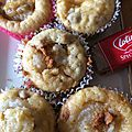 Muffins speculoos et coeur de poire