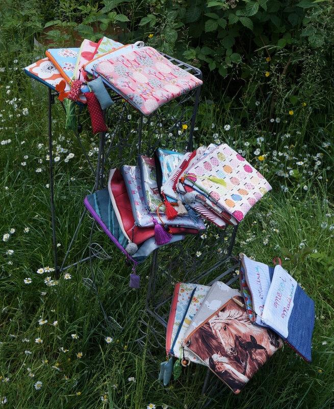Pochettes au jardin 147