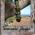 Bracelet Jaspe nacré light green