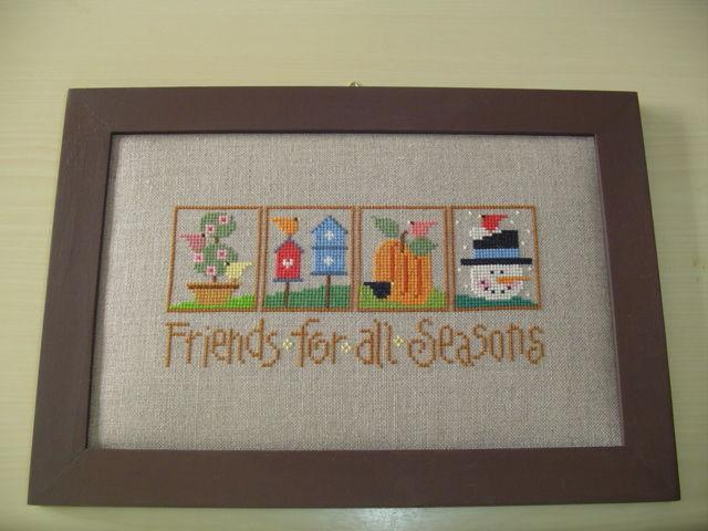 Friends for all seasons de Lizzie Kate