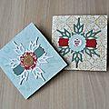 Etiquettes cadeaux, mini-cartes et autres bricoles