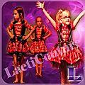 Costume de danse coccinelle