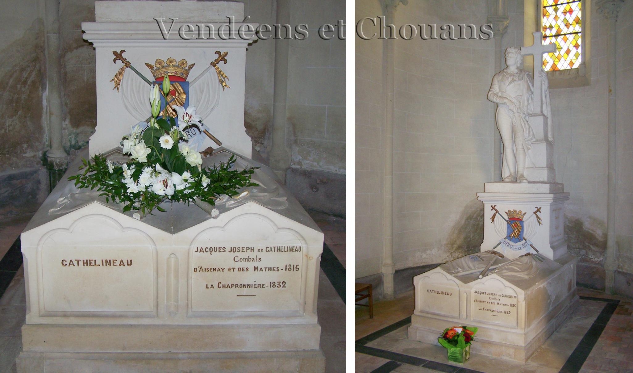 Saint-Florent-le-Vieil (49) – Tombeau de Cathelineau dans la chapelle Saint-Charles