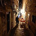 Croisière d'hiver en Dalmatie du 11 au 18 février. Mercredi 15 février, de <b>Mljet</b> (Luka Polace) à Dubrovnik. Visit of Dubrovnik