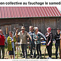 Initiation collective au fauchage ... il reste quelques places