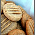 Biscuits miel-cannelle