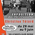 Grande exposition photographique a villennes du 29 mai au 9 juin 2014