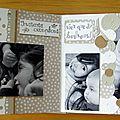 Album Complicité entre soeurs - pages 15-16