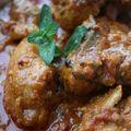 Sindhi murgh, poulet mijoté aux épices à la mode du sindh