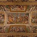 Regola - Le quartier du palais Farnese (3/13). Le palais Farnèse - Le salon d'<b>Hercule</b> et la galerie des Carrache.