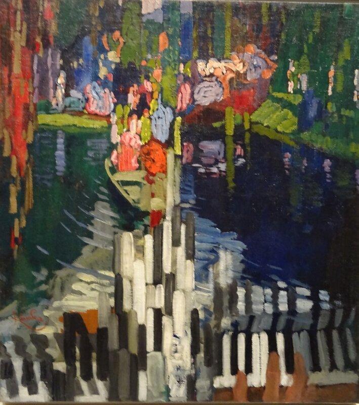Kupka Les touches de piano Lelac 1909