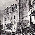 Ancien Nantes - cour du Château des Ducs