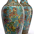 Frank lloyd wright window and chinese cloisonne top 20th century design and decorative arts events at heritage auctions