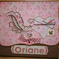 Album de naissance d'oriane