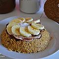 Bowlcake à la noix de coco