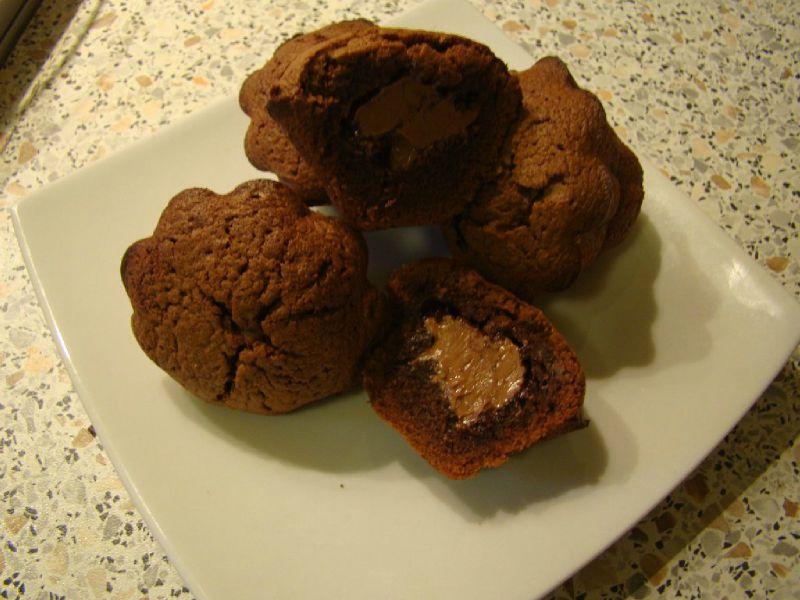 mini fondants au chocolat