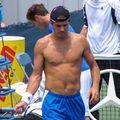 Tennis: Cincinatti version torses nus...
