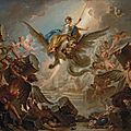 <b>Charles</b>-<b>Antoine</b> <b>Coypel</b> (Paris 1694-1752), The Destruction of the Palace of Armida