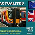 Privatisation du rail ? la grande bretagne l'a fait... et c'est un échec pour les usagers