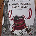 L'abominable sac à main d'<b>André</b> <b>Bouchard</b>