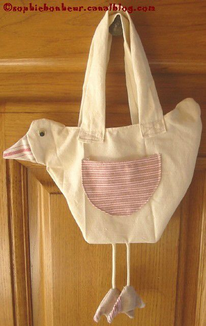 couture sac poule paques
