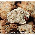 Cookies moelleux okara baies de <b>goji</b> (Thermomix ou pas )