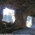 L'habitat troglodyte des Balmes de <b>Montbrun</b>