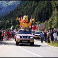 Tour de France 2009, Verbier, la caravane du tour