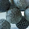 Boules décoratives de janvier