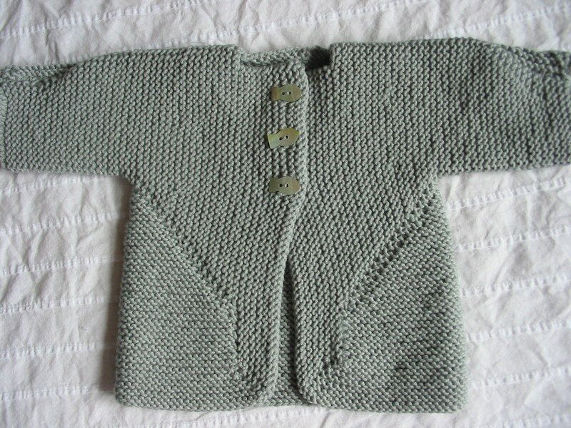 baby surprise jacket-cousue