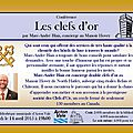 Marc-andré blais : concierge double clefs d'or