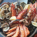 <b>Plateau</b> de fruits de mer