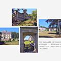 En suivant le Cher, admirons le château de la Bourdaisiére à Montlouis.