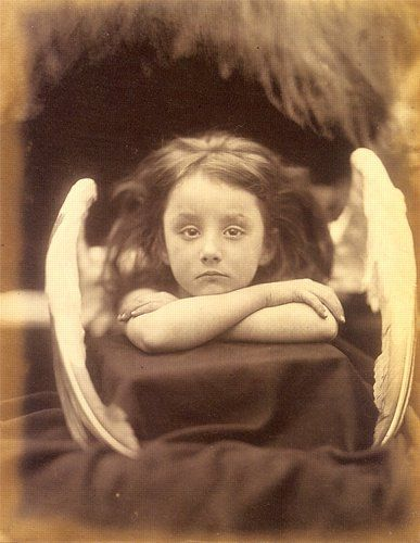 46. Julia Margaret CAMERON, I Wait, 1872.