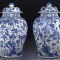 Kangxi blue and white porcelains @ nagel auctions