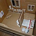 Nouveau projet, une chambre d'enfant en carton