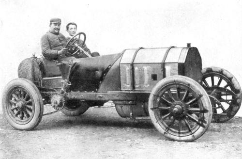 1900s vincenzo lancia (fiat 4-cyl 11,8-litre 100hp)