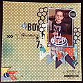 album de mes loulous Mathis et de Gary et Alexis et Enzo