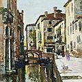 <b>Maurice</b> Bompard (1857-1936), Vue de Venise
