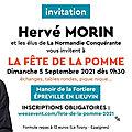 Rentrée politique: lettre envoyée à Hervé MORIN, président de la Normandie