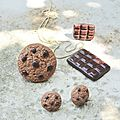 chocolate and cookies