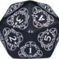 Boutique jeux de société - Pontivy - morbihan - ludis factory - d20 counter noir