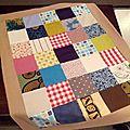 Le plaid patchwork pour edgar