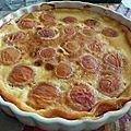Clafoutis abricot vergeoise