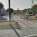 Rond-point à Contagem (Brésil)