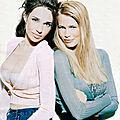 1997, <b>Béatrice</b> <b>Dalle</b> & Claudia Schiffer