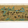 With signature of <b>Qiu</b> <b>Ying</b> (China, Qing dynasty, 1644-1911), Along the River During the Qingming Festival