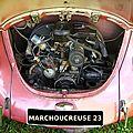 COX VW-ANNES 1970-MOTEUR