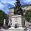 Statue Quand-Même à <b>Belfort</b>, le sommaire