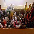 Rangement crayons-feutres